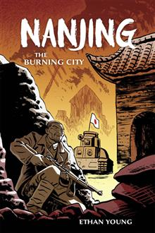 NANJING THE BURNING CITY HC