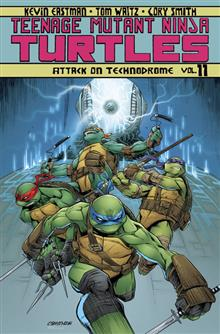 TMNT ONGOING TP VOL 11 ATTACK ON TECHNODROME