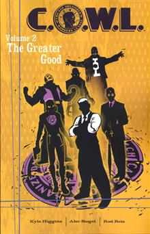 COWL TP VOL 02 THE GREATER GOOD (MR)