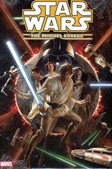 STAR WARS MARVEL COVERS HC VOL 01 ROSS CVR