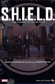 SHIELD COMPLETE COLLECTION OMNIBUS HC MAOS DM VAR ED