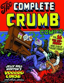 COMPLETE CRUMB COMICS TP VOL 16 1980S MORE STRUGGLE (CURR PT (MR)