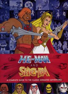 HE MAN & SHE-RA COMPLETE GUIDE CLASSIC ANIMATED ADV HC
