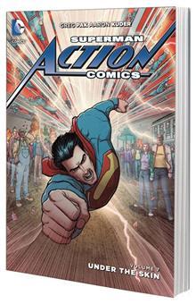 SUPERMAN ACTION COMICS TP VOL 07 UNDER THE SKIN