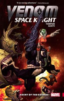VENOM SPACE KNIGHT TP VOL 01 AGENT OF COSMOS