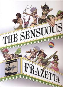 SENSUOUS FRAZETTA DLX SLIPCASED HC (MR)