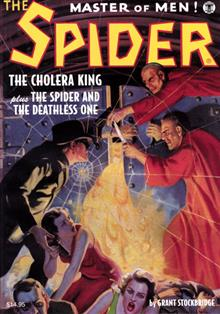 SPIDER DOUBLE NOVEL #10 CHOLERA KING & SPIDER & DEATHLESS 1