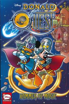 DONALD QUEST TP HAMMER OF MAGIC