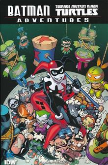 BATMAN TMNT ADVENTURES TP DIRECT MARKET EXC