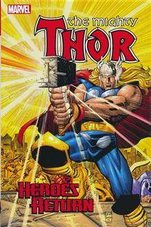 THOR HEROES RETURN OMNIBUS HC VOL 01