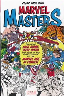 COLOR YOUR OWN MARVEL MASTERS TP