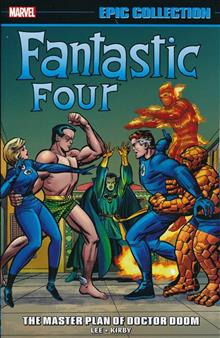 FANTASTIC FOUR EPIC COLL MASTER PLAN OF DOCTOR DOOM TP