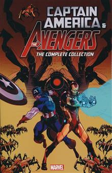 CAPTAIN AMERICA AND THE AVENGERS COMP COLL TP