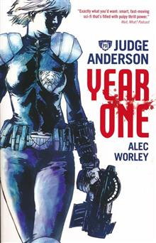 JUDGE ANDERSON YEAR ONE NOVEL