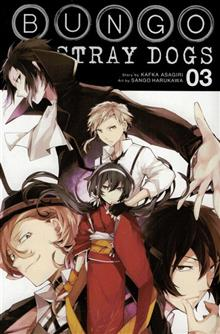 BUNGO STRAY DOGS GN VOL 03