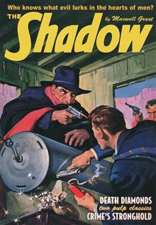 SHADOW DOUBLE NOVEL VOL 119 DEATH DIAMONDS & CRIMES STRONGHO