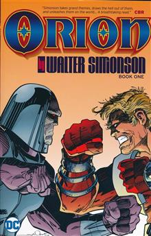 ORION BY WALTER SIMONSON TP BOOK 01