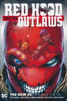 RED HOOD & THE OUTLAWS THE NEW 52 OMNIBUS HC VOL 01