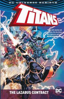 TITANS LAZARUS CONTRACT TP
