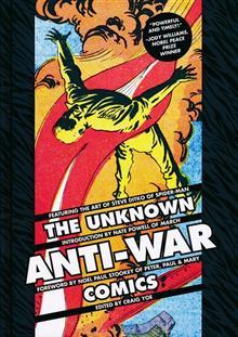 UNKNOWN ANTI-WAR COMICS HC (C: 0-1-2)