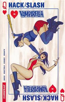 HACK SLASH VS VAMPIRELLA TP