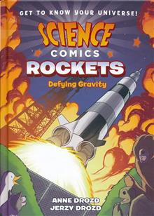SCIENCE COMICS ROCKETS HC GN