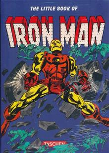 LITTLE BOOK OF IRON MAN FLEXICOVER