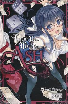 THOUGH YOU MAY BURN TO ASH GN VOL 03