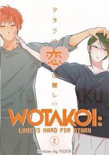 WOTAKOI LOVE IS HARD FOR OTAKU GN VOL 02