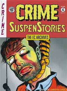 EC ARCHIVES CRIME SUSPENSTORIES HC VOL 04