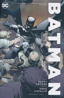 BATMAN BY SNYDER & CAPULLO OMNIBUS HC VOL 01