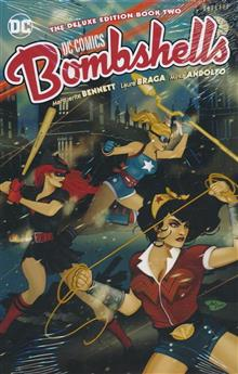 DC BOMBSHELLS THE DELUXE ED HC BOOK 02