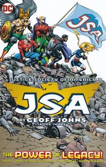 JSA BY GEOFF JOHNS TP BOOK 03