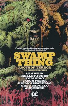 SWAMP THINGS ROOTS OF TERROR DELUXE ED HC