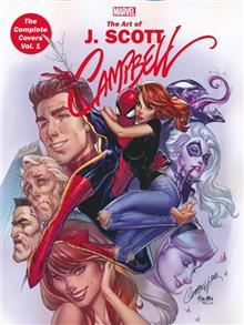 MARVEL MONOGRAPH TP VOL 01 J SCOTT CAMPBELL COMPLETE COVERS