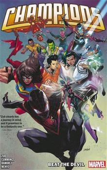 CHAMPIONS BY JIM ZUB TP VOL 01 BEAT THE DEVIL