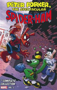 PETER PORKER SPECTACULAR SPIDER-HAM COMPLETE COLLECT TP VOL