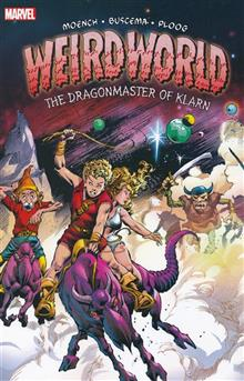 WEIRDWORLD TP DRAGONMASTER OF KLARN