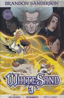 BRANDON SANDERSON WHITE SAND HC VOL 03 SANDERSON SGN