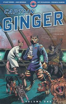 CAPTAIN GINGER TP VOL 01