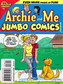 ARCHIE AND ME JUMBO COMICS DIGEST #18