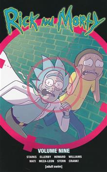 RICK & MORTY TP VOL 09