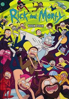 RICK AND MORTY HC BOOK 04 DLX ED