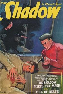 SHADOW DOUBLE NOVEL VOL 143 SHADOW MEETS MASK  TOLL OF DEATH