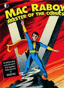 MAC RABOY MASTER OF THE COMICS HC