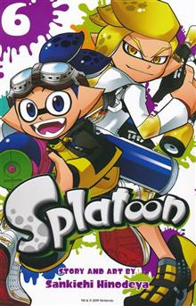 SPLATOON MANGA GN VOL 06
