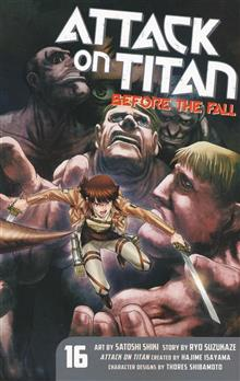 ATTACK ON TITAN BEFORE THE FALL GN VOL 16 (JAN198512)