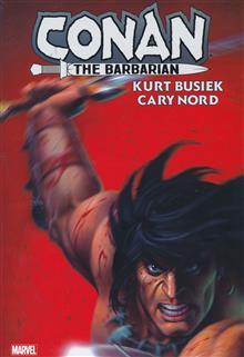 CONAN THE BARBARIAN BY KURT BUSIEK OMNIBUS HC LINSNER DM VAR