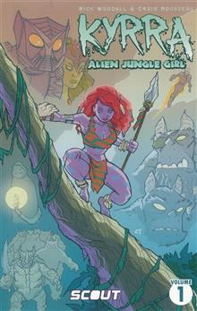 KYRRA ALIEN JUNGLE GIRL TP