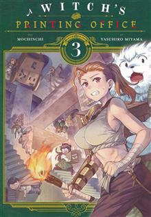 WITCHS PRINTING OFFICE GN VOL 03 (C: 0-1-2)